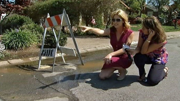 [BAY] San Jose Water Main Break Lasts 2 Days, Frustrates Residents
