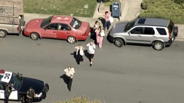 [BAY] RAW VIDEO: Police Respond to Report of Shooting at Daly City Medical Building