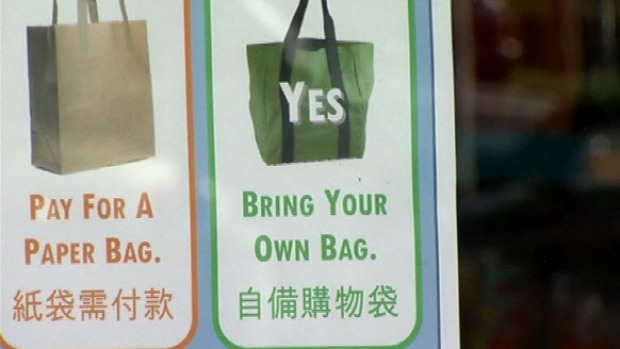 [BAY] Plastic Bag Ban Goes Into Effect in San Mateo County