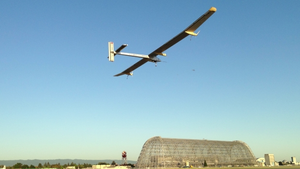[BAY] Raw Video: Solar Impulse Heads From Silicon Valley to NY