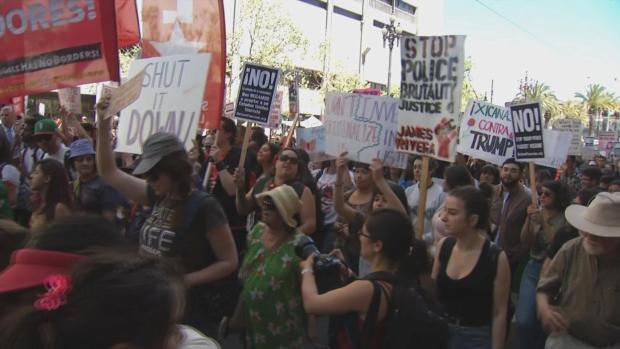Bigger Turnout For May Day March in San Francisco