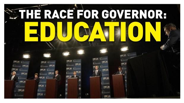 California Gubernatorial Debate: Education