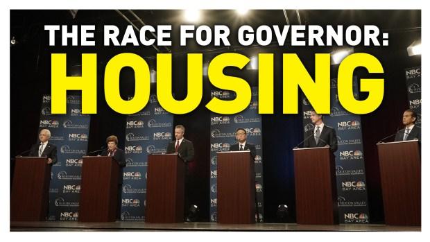 California Gubernatorial Debate: Housing