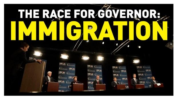 California Gubernatorial Debate: Immigration