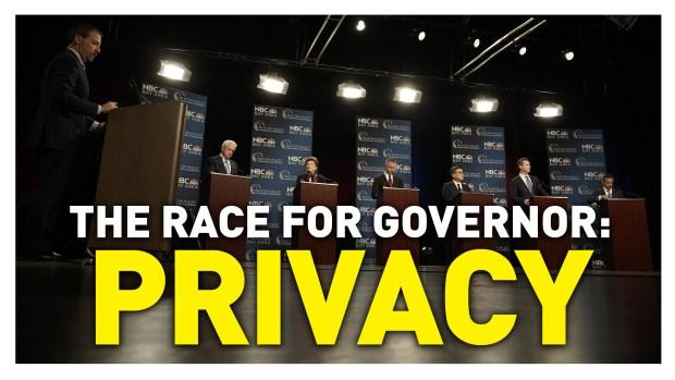 California Gubernatorial Debate: Privacy