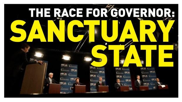 California Gubernatorial Debate: Sanctuary State
