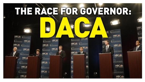 California Gubernatorial Debate: DACA