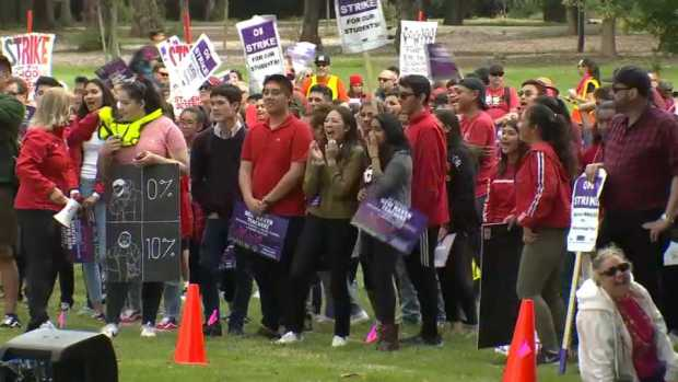 [BAY] Solidarity Rally for Striking New Haven Teachers