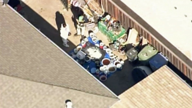 [BAY] RAW VIDEO: San Jose Home Investigate Possible Meth Lab