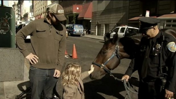 San Francisco Police Horses Honored for Service