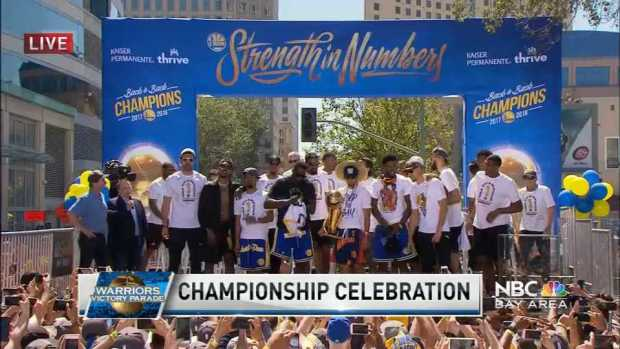 [BAY] Warriors Championship Celebration Q&A