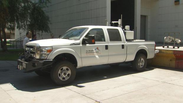[BAY] SJSU Meteorology Department Helps Firefighters Battle Wragg Fire