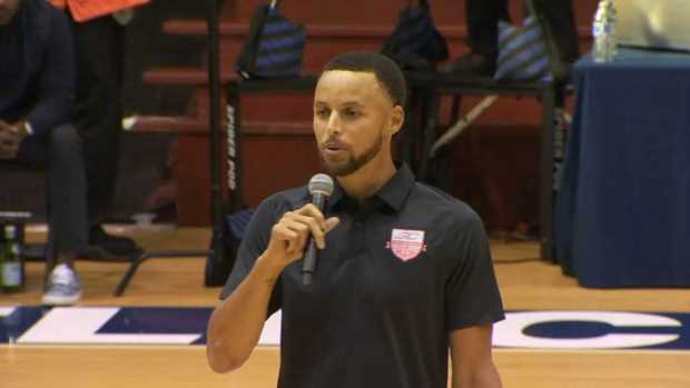 [BAY] Curry Dedicates 'SC30 Select Showcase' Event to Nia Wilson