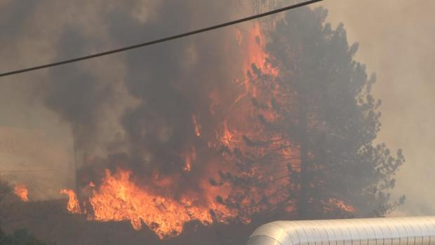 Photos of Sawmill Fire in Sonoma County