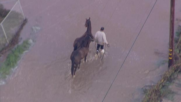 Dramatic Images: Flooded Homes, Farmland in Hollister Area