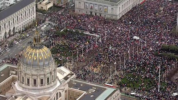 Marchers Take to the Streets of San Francisco