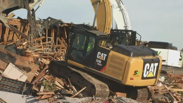 Apartment Complex Teetering on Pacifica Cliffside Ripped Apart by Excavators