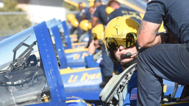 Blue Angels Delight at Fleet Week San Francisco