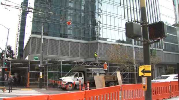 [BAY] Millennium Tower Residents Remove Protective Scaffolding