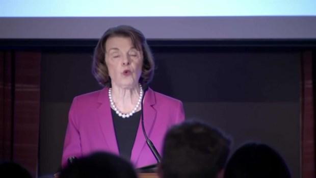 [BAY] RAW: Dianne Feinstein Speaks After Keeping Senate Seat