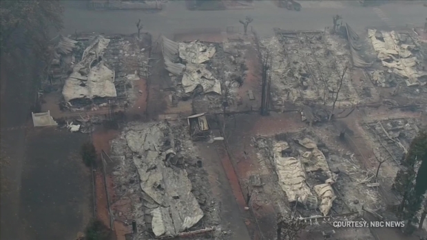 [BAY] Drone Video: Camp Fire Wipes Out Paradise (Part 1)