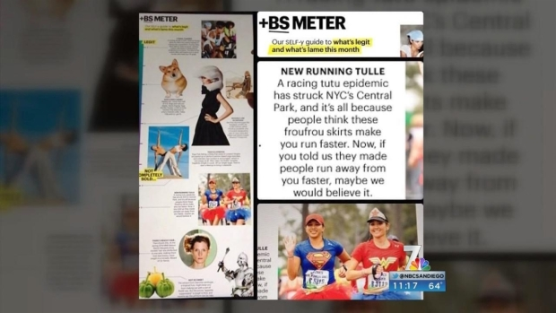 [DGO]Runner's Tutu Story Goes Viral