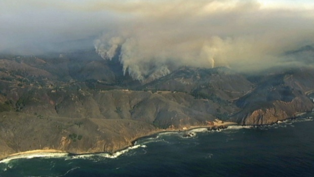 [BAY] RAW VIDEO: Big Sur Wildfire Leads to Evacuations