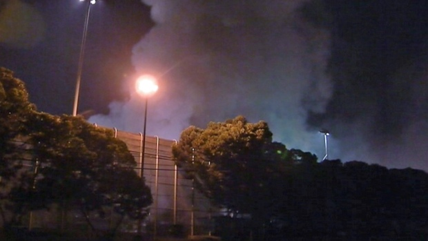 [BAY] Sims Metal Plant Fire, 2nd in 6 Weeks