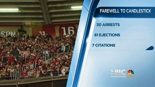 [BAY] 81 Kicked Out, 30 Arrested at Candlestick Park