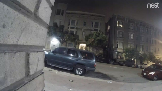 [BAY] RAW: Surveillance Video Captures Deadly Hit-and-Run in San Francisco