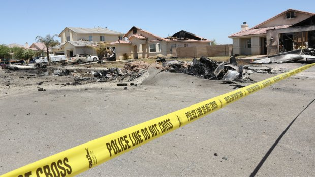 [G]Military Plane Crashes in Imperial Valley