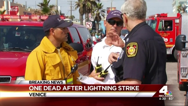 [LA] Man Dies After Being Struck by Lightning on SoCal Beach