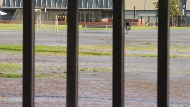 [LA] Flooding Shuts Down UCLA Parking Structure