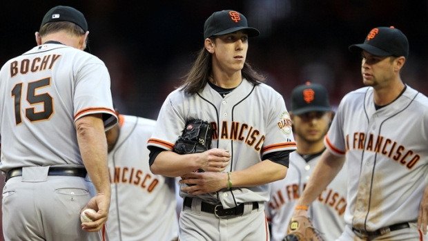 Lincecum Struggles, SF Lose 5-4 to D'backs