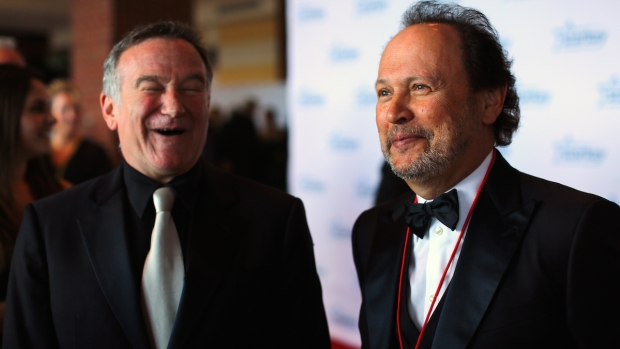 [NATL] Fallon: Billy Crystal Remembers His Friend, Robin Williams