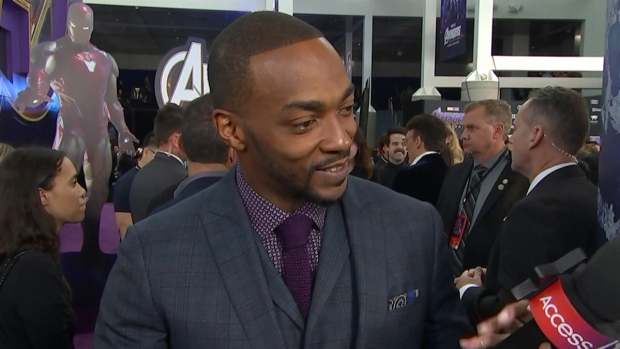 [NATL] Anthony Mackie Talks Being 'Unemployed' After 'Avengers'