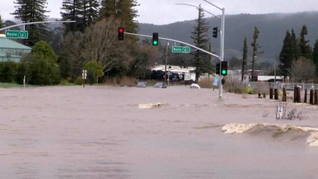 Second Storm Wreaks Havoc Across Bay Area