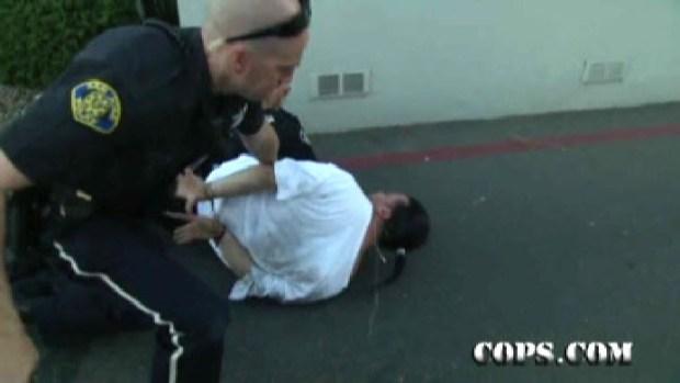 """""""Cops"""" TV Cameras Capture San Jose Police Arrest"""