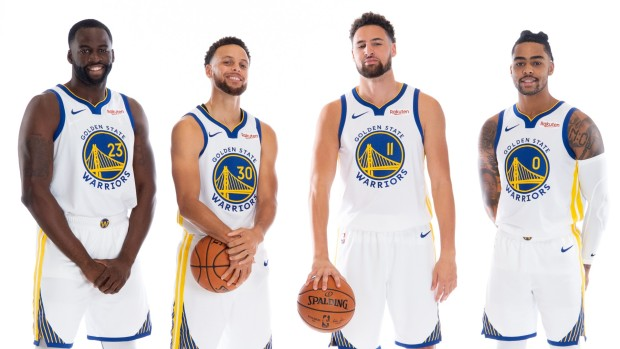 [BAY BW]New Season, New Look: Meet the Warriors' Revamped Roster