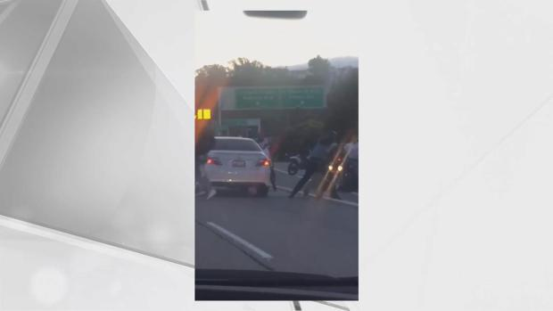 Video Shows Dirt Bikers Beating Man on Highway 101 in San Francisco