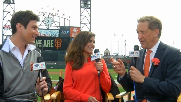 Larry Baer Talks Expectations Ahead of Giants' Home Opener