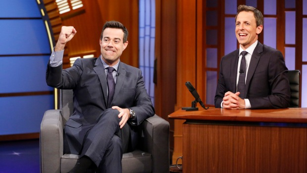"[NATL] Carson Daly Talks About His Many Gigs on ""Late Night"""