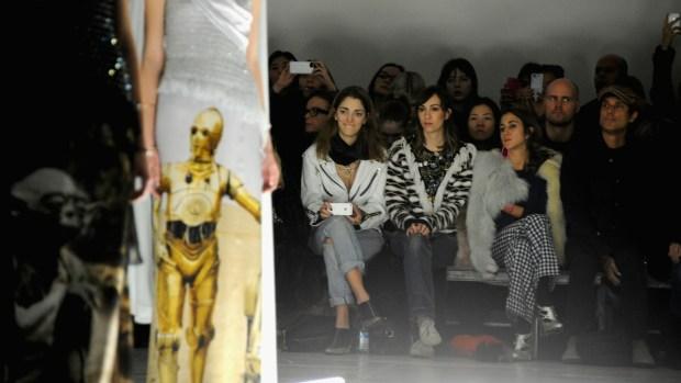 """[NATL] Rodarte's """"Star Wars"""" Couture at NY Fashion Week"""