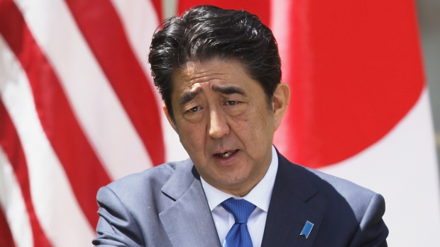 [BAY] Japan Prime Minister Gives Speech at Stanford Amid Protests