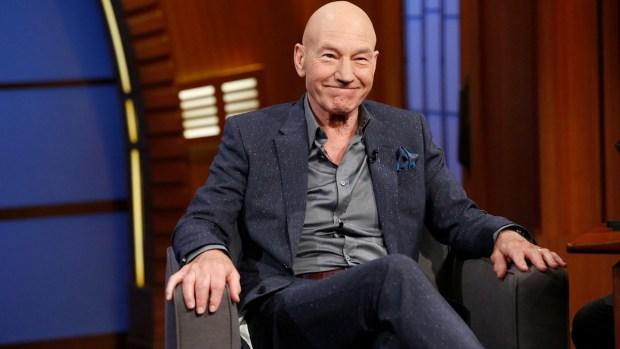 "[NATL] Patrick Stewart Talks Ricky Gervais, ""X-Men"" on ""Late Night"""
