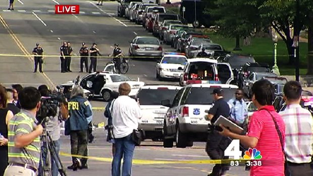 [DC] Female Suspect Fatally Shot Near Capitol