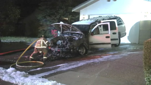 Contra Costa County Residents Nervous After Latest in String of Suspicious Car Fires