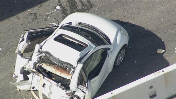 Deputy Killed in I-580 Crash with Bus Carrying Tesla Workers