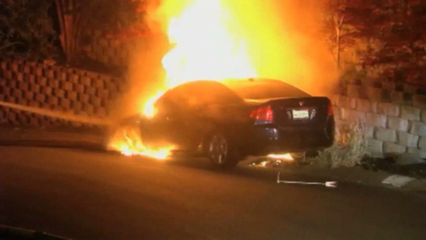 String of Car Fires in the East Bay Deemed Related