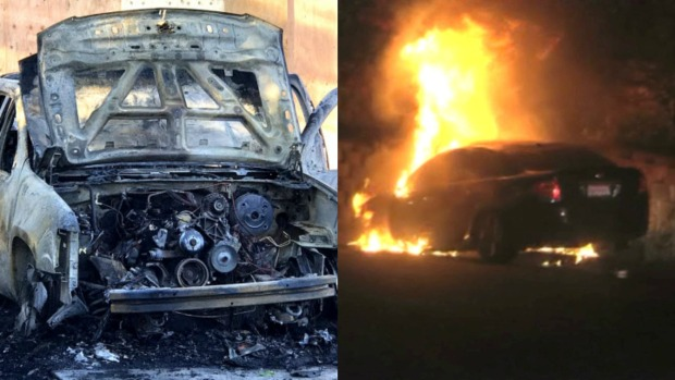 Authorities May Release Name of Suspect Accused of Igniting Several Cars on Fire in Contra Costa County